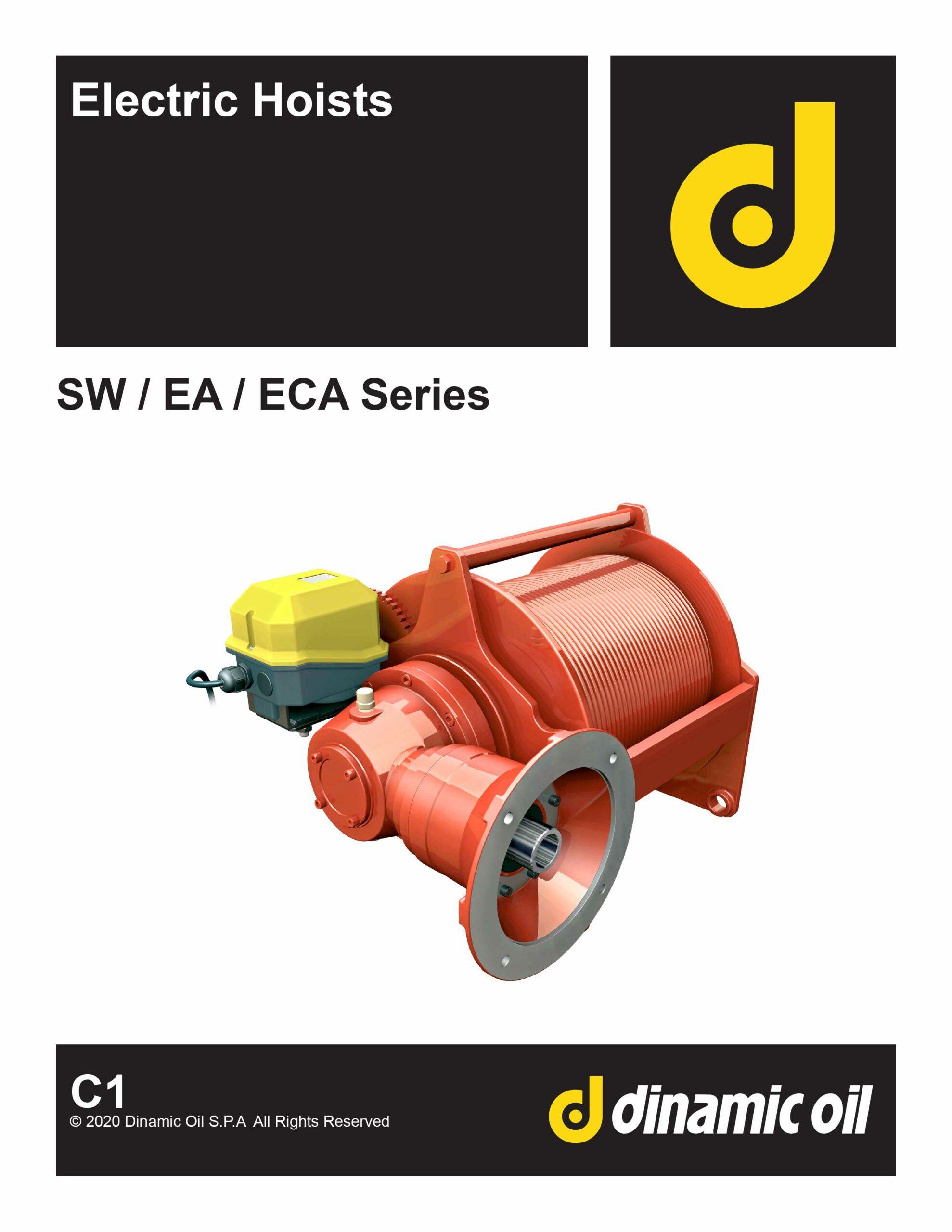 Dinamic Oil Electric Hoist Catalog C1