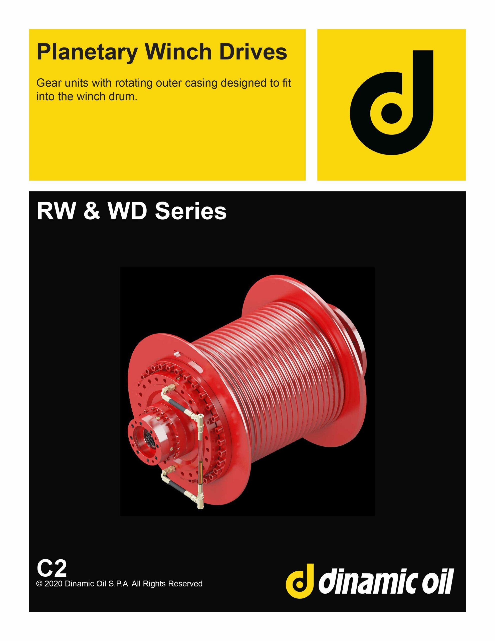 Dinamic Oil Winch Drive (RW-WD Series) Catalog C2